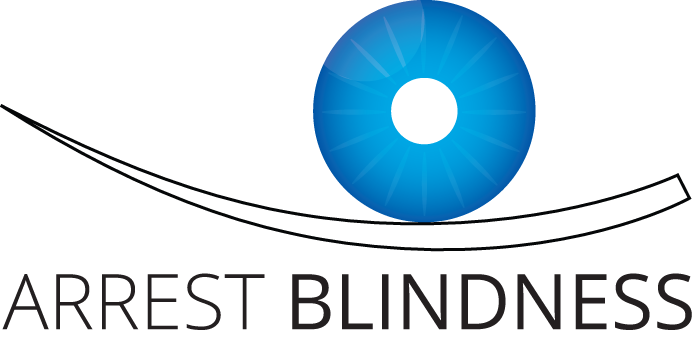 Arrest blindness logo